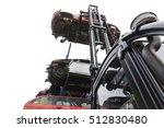 car wrecks at the junkyard | Shutterstock . vector #512830480