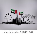 united arab emirates national... | Shutterstock .eps vector #512831644