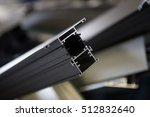 many aluminum profiles.... | Shutterstock . vector #512832640
