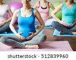 yoga for the pregnant | Shutterstock . vector #512839960