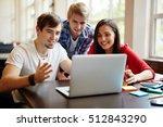 discussing data | Shutterstock . vector #512843290