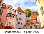 Street View With Gate Tower In...