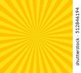 sun rays. vector | Shutterstock .eps vector #512846194