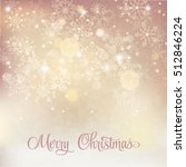 merry christmas vector card | Shutterstock .eps vector #512846224