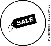 sale tag symbol | Shutterstock .eps vector #512849488