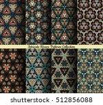 weave seamless pattern.... | Shutterstock .eps vector #512856088