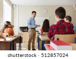 education  school  learning and ... | Shutterstock . vector #512857024