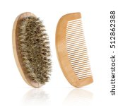 Wooden Comb And Brush