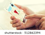 navigation  location ... | Shutterstock . vector #512862394