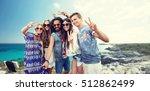 summer holidays  vacation ... | Shutterstock . vector #512862499