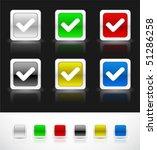 web buttons | Shutterstock .eps vector #51286258