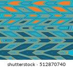 abstract cellular pattern.... | Shutterstock . vector #512870740