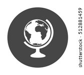 world globe icon   Shutterstock .eps vector #512881459