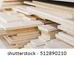 board chipboard cut parts | Shutterstock . vector #512890210