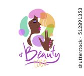 logo for the beauty salon....   Shutterstock .eps vector #512891353