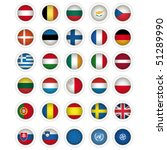 icons with flags of the... | Shutterstock .eps vector #51289990