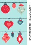 christmas vector seamless... | Shutterstock .eps vector #512902294