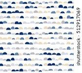 scandinavian abstract cute... | Shutterstock .eps vector #512917069