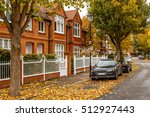 Chiswick Suburb Street In...