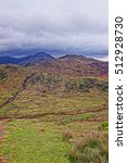 Small photo of Beautiful chain of mountains of National Park Snowdonia in North Wales of the United Kingdom. Snowdonia is a mountain range and a region in North of Wales.