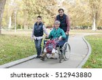 three generations of a family... | Shutterstock . vector #512943880