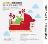 merry christmas element day... | Shutterstock .eps vector #512979883