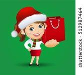 people set   santa claus  ...   Shutterstock .eps vector #512987464