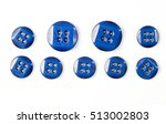 buttons photographed in studio | Shutterstock . vector #513002803