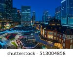 tokyo japan cityscape in the... | Shutterstock . vector #513004858