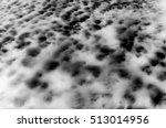 black and white high altitude... | Shutterstock . vector #513014956