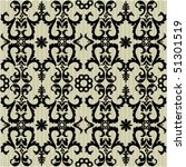 seamless ornate pattern | Shutterstock .eps vector #51301519