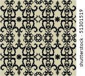 seamless ornate pattern | Shutterstock .eps vector #51301519