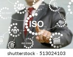 iso or the international... | Shutterstock . vector #513024103