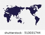 world map | Shutterstock .eps vector #513031744