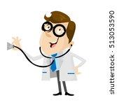 doctor hospital person vector...   Shutterstock .eps vector #513053590