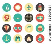 vector simple universal travel... | Shutterstock .eps vector #513064894