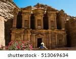 photo of the tourist woman in... | Shutterstock . vector #513069634