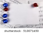 new year composition christmas... | Shutterstock . vector #513071650