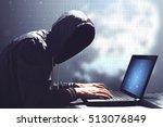 an adult online anonymous... | Shutterstock . vector #513076849