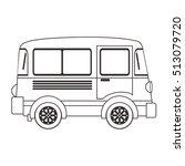 transportation vehicle design | Shutterstock .eps vector #513079720