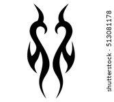 tattoo tribal vector designs....   Shutterstock .eps vector #513081178