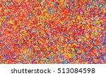 modern fine art  spattered... | Shutterstock . vector #513084598