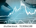 data analyzing in forex market...   Shutterstock . vector #513086188