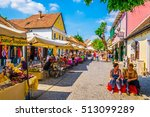 szentendre  hungary may 22 ... | Shutterstock . vector #513099289
