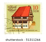 germany   circa 1983  a stamp... | Shutterstock . vector #51311266