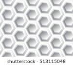 modern geometric light gray... | Shutterstock .eps vector #513115048