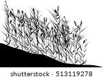 illustration with rush... | Shutterstock .eps vector #513119278