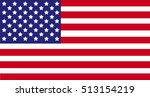 united states of america flag   ...   Shutterstock .eps vector #513154219