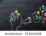 share your knowledge concept... | Shutterstock . vector #513161638
