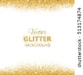 Background With Glitter Golden...